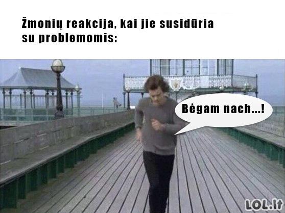Žmonės + problemos