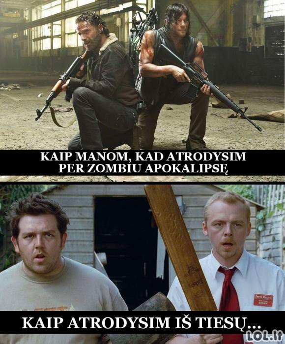Kai prasidės zombių apokalipsė