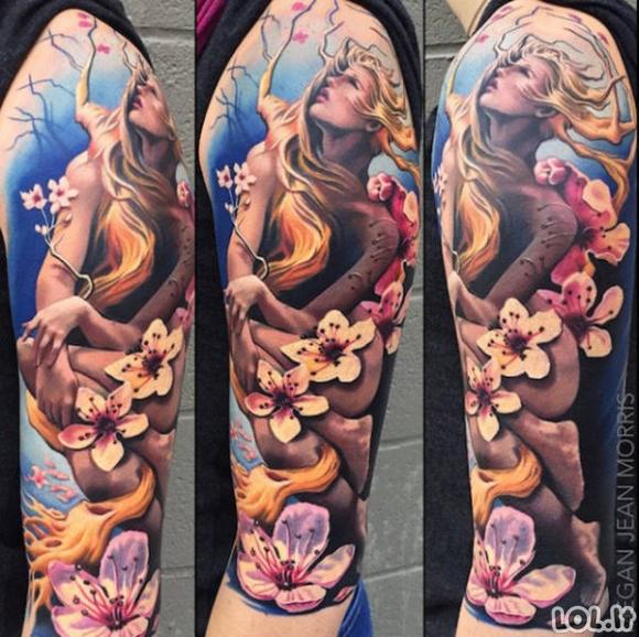 Kai tatuiruotės atrodo kaip meno kūriniai