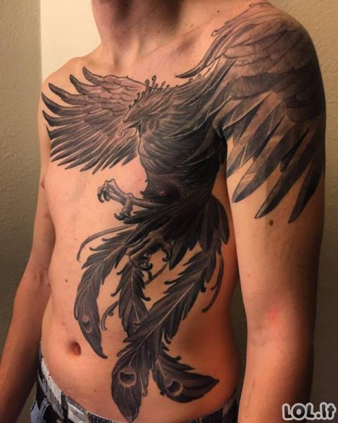 Kai tatuiruotės yra tikri meno kūriniai