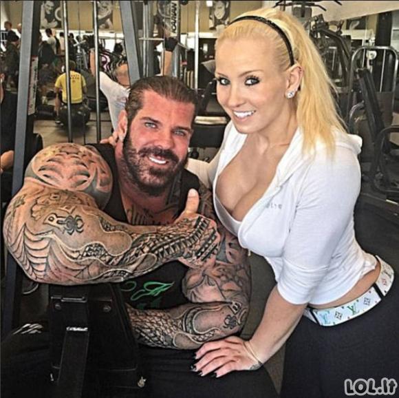 Milžinas vartoja steroidus nuo paauglystės ir vis dar nepraranda sportinės formos