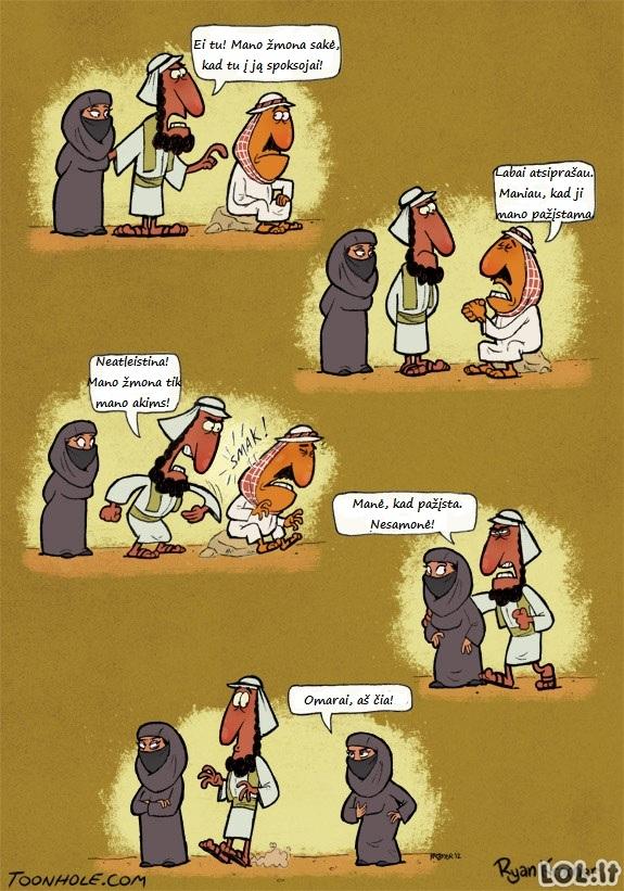Arabiškos problemos