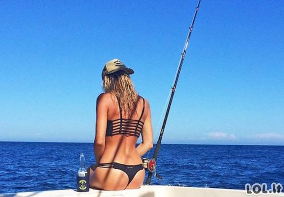 Vaizdai, po kurių užsinorėsite į žvejybą
