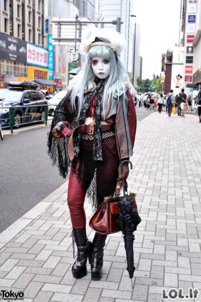 Keisčiausios Japonijos gatvės mados
