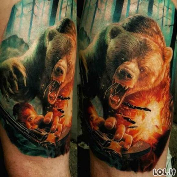 Tatuiruotės - meno kūriniai