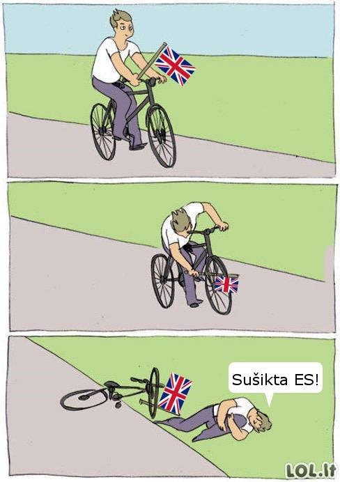 Britų situacija iš šalies