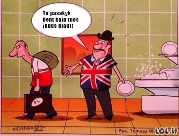 Anglija be imigrantų