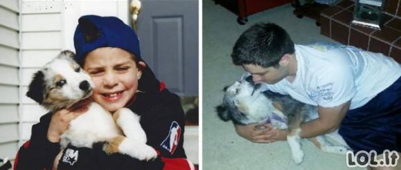 Pirmos ir paskutinės mažųjų draugų nuotraukos