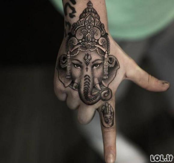 Nuostabių tatuiruočių rinkinys