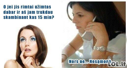 Logiškos moterų mintys