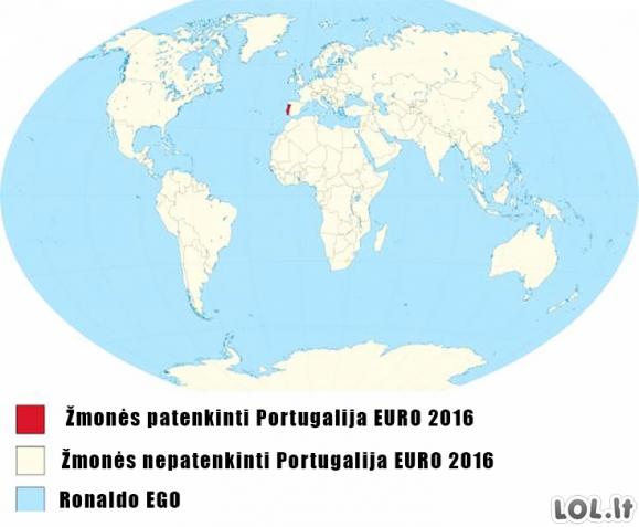Portugalija EURO 2016