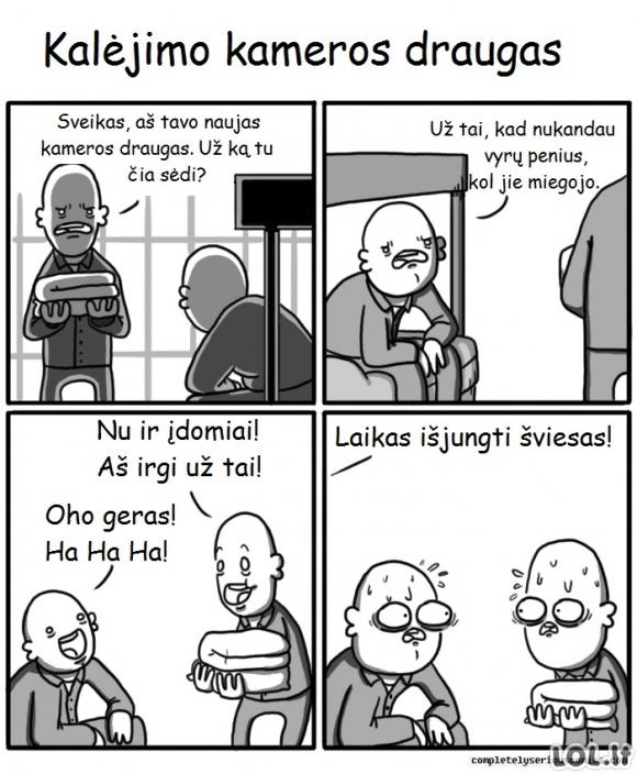 Pavojingi kaliniai