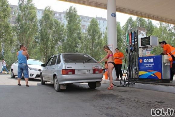 Nemokamų degalų akcija