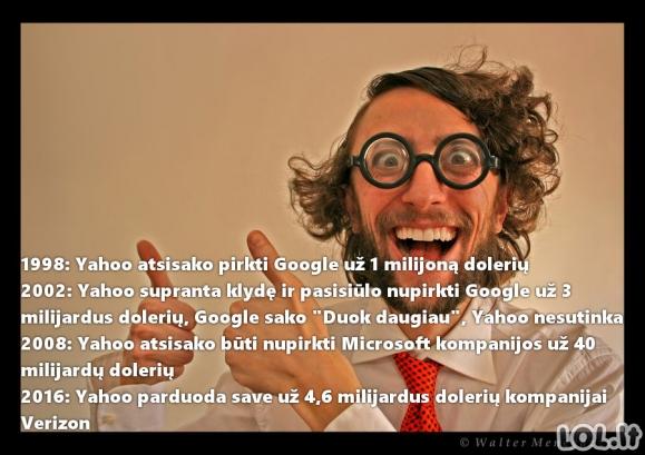"""Yahoo - IT pasaulio """"genijai"""""""