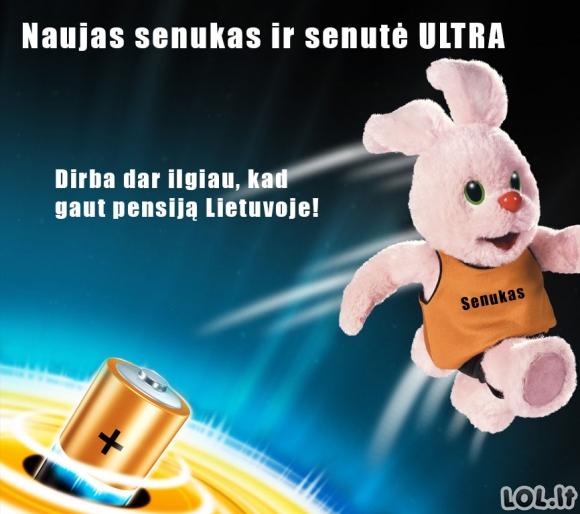 Lietuvos ultra galia