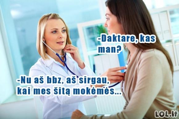 Jei daktarai mokytųsi taip kaip tu