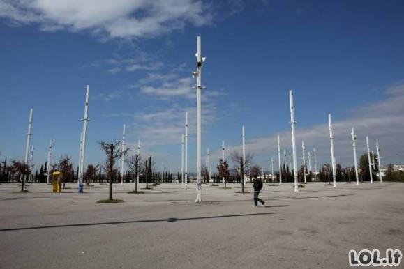 Kaip dabar atrodo Atėnai po 2004--ųjų Olimpiados