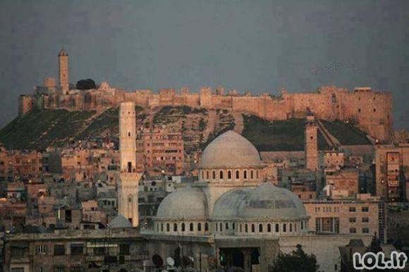Kaip atrodė Sirija prieš prasidedant karui?