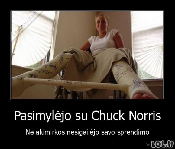 Nepamirštamas seksas su Chuck Norriss
