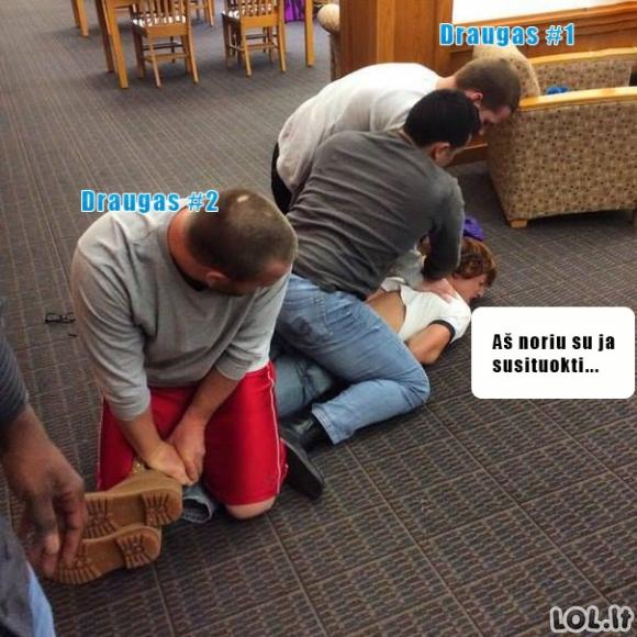 Draugo gelbėjimo operacija iš kvailų minčių