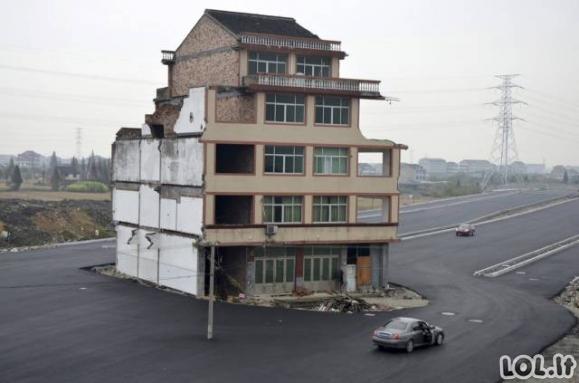 Namai - tikros rakštys Kinijos miesto projektuotojams