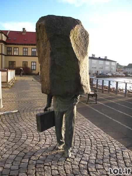 Originaliausios skulptūros pasaulyje