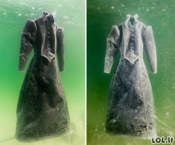 Kaip atrodo suknelė po 2 metų Negyvojoje jūroje