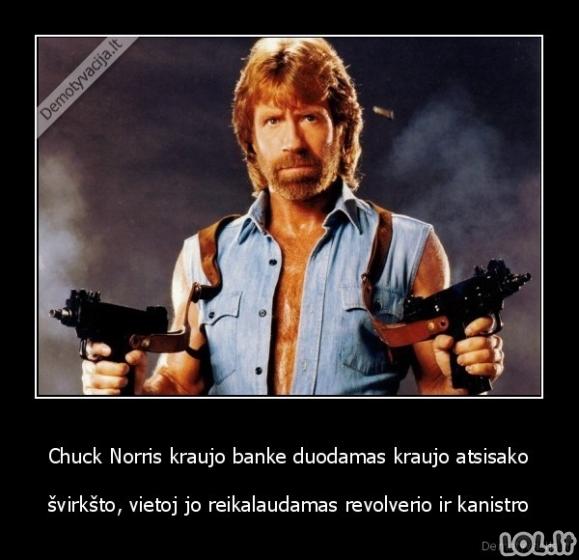 Chuck Norris kraujo donorystė