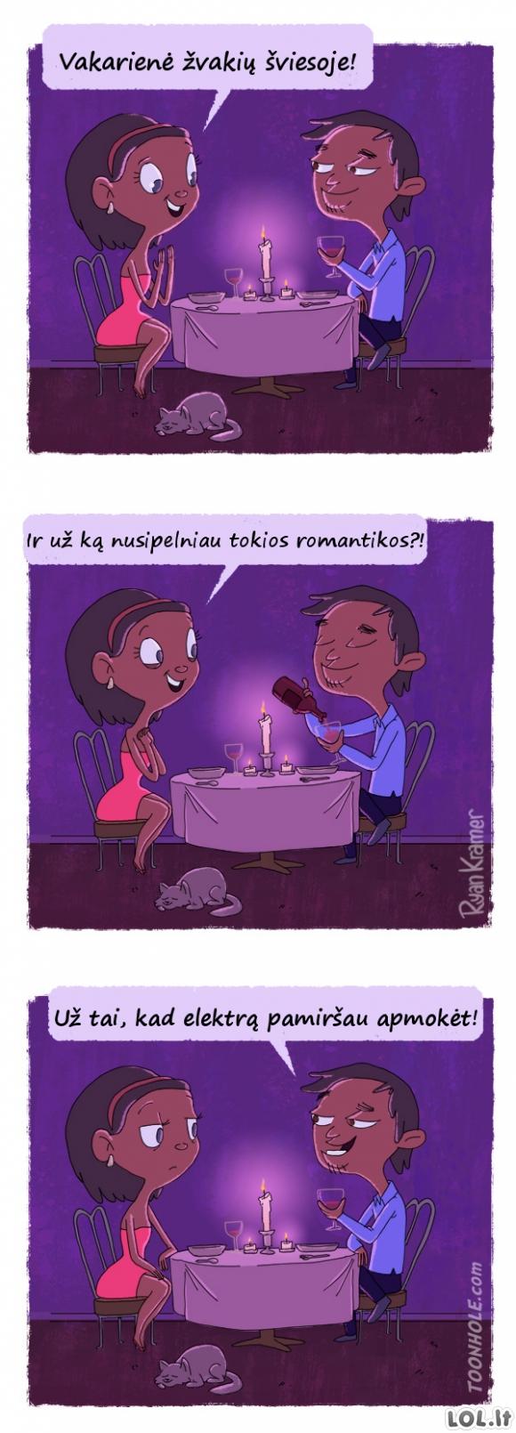 Romantiškas vaikinas