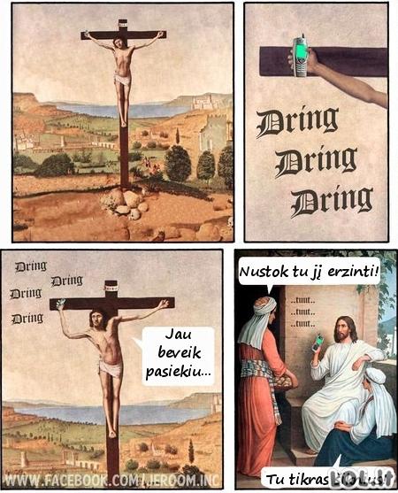 Kaip Judas trolino Jėzų...