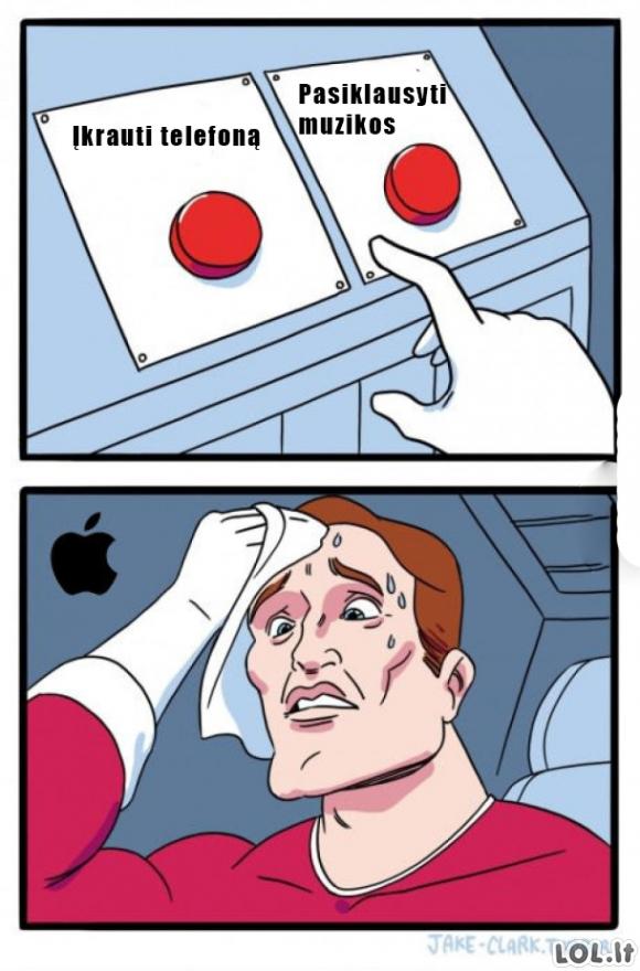 iPhone 7 problemos