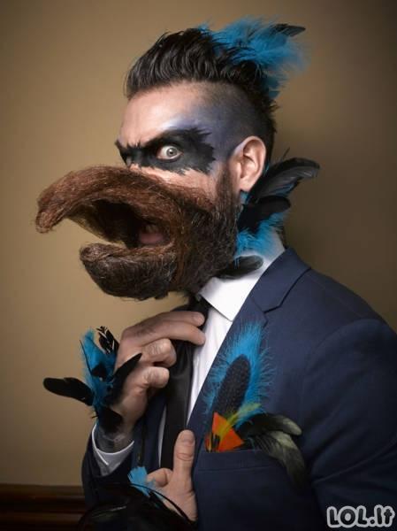 Įspūdingos barzdų čempionato dalyvių nuotraukos