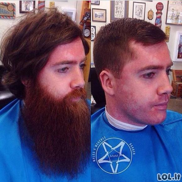 Kaip žmones pakeičia gera šukuosena