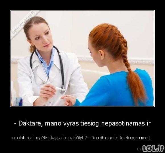 Sudominta gydytoja