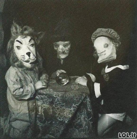 Šiurpūs praeiteis Helovyno kostiumai [20 FOTO]