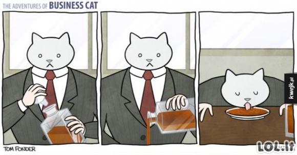 Jeigu katinas būtų tavo bosas