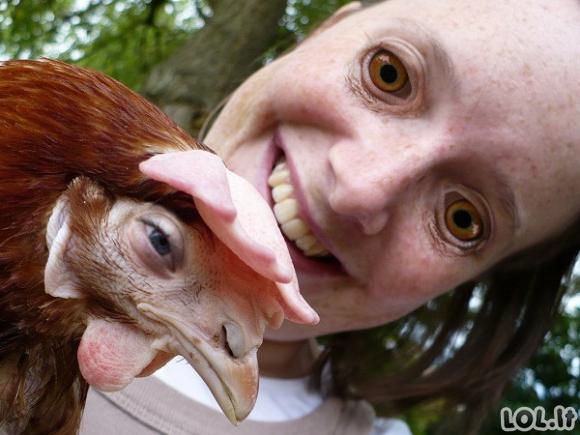 Žmonių ir gyvūnų veidų sukeitimai