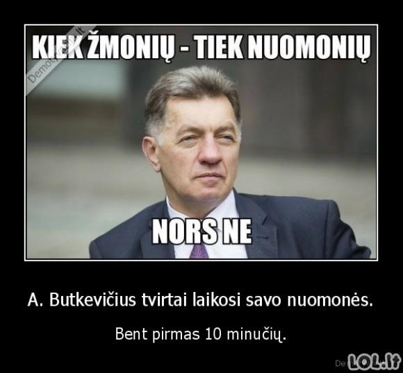 Pastovusis Butkevičius