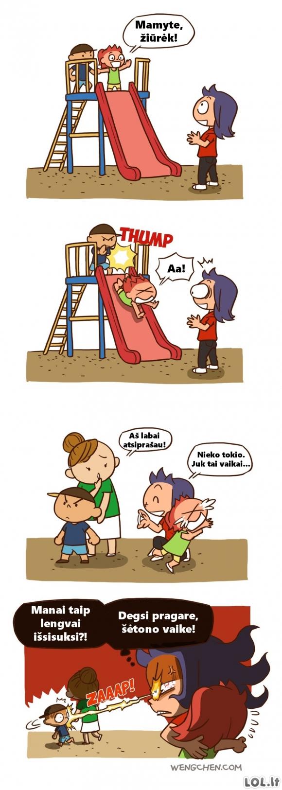 Ką reiškia būti mama [3 FOTO]