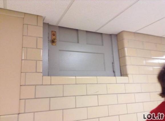 Absurdiškiausi statybininkų darbai