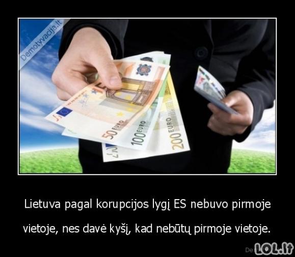 Korumpuota Lietuva