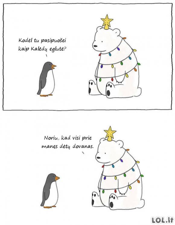 Kalėdinė gudrybė
