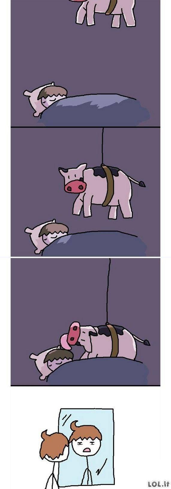 Neklaužada karvė