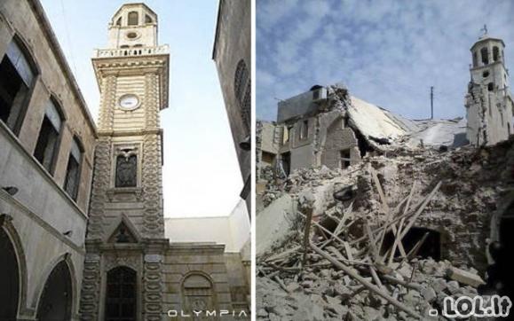 Kaip karas pakeitė Alepo miestą?