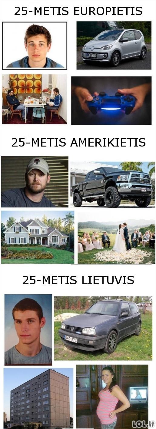 Skirtingos tautos