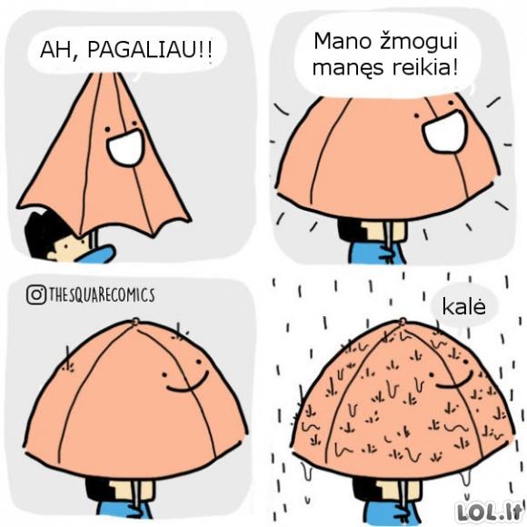 Piktas skėtis