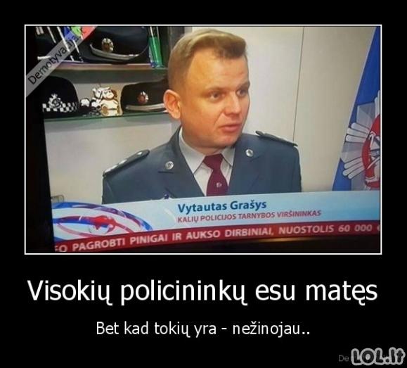 Neeilinis policininkas