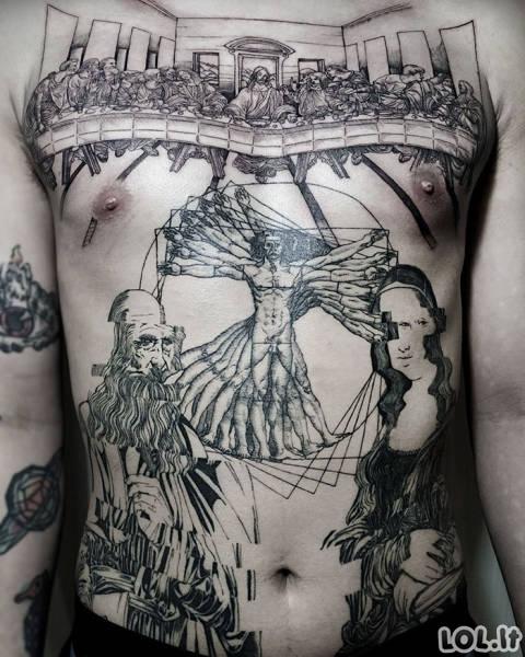Kai tatuiruotes daro tikri menininkai