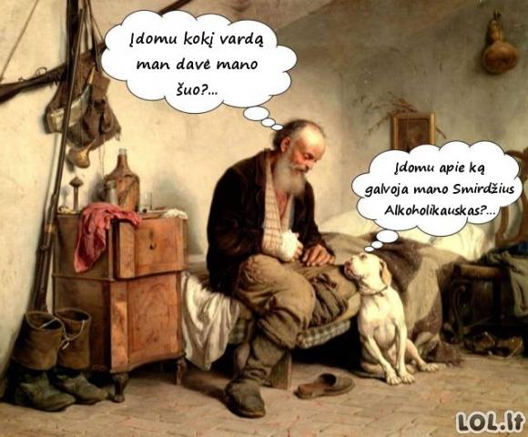 Šuns suteiktas vardas