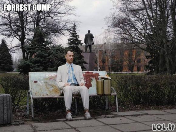Jei populiarūs Holivudo filmai būtų filmuoti Rusijoje